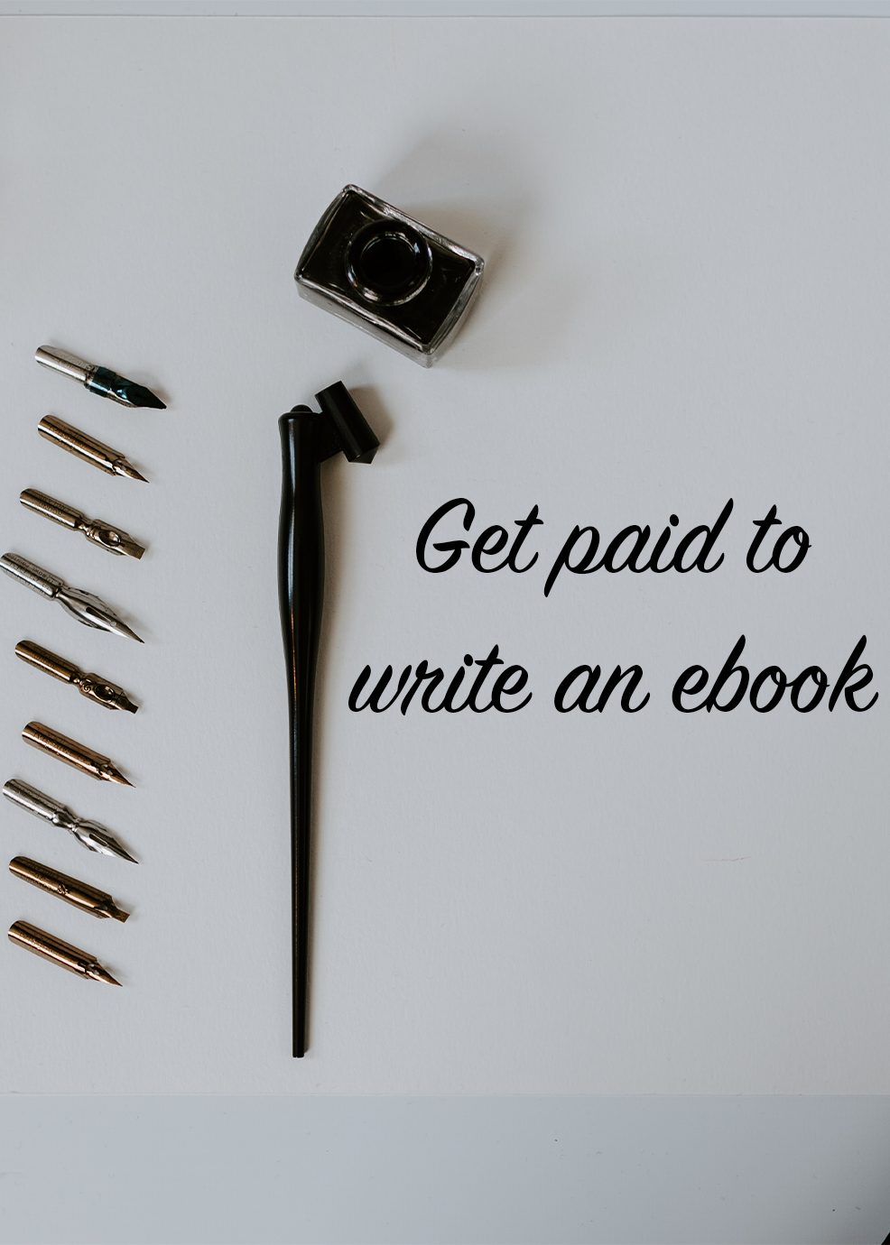 Get Paid To Write An ebook